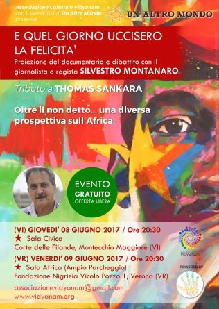 2017 06- Locandina Thomas Sankara patrocinio UAM