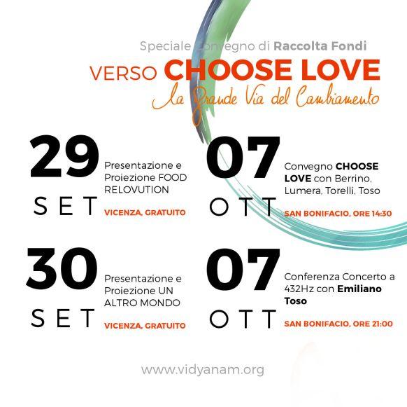 2017 10- Biglietti Choose Love INSTAGRAM